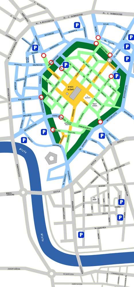 Krakow Strefy Ograniczonego Parkowania Gdzie Parkowac W Krakowie